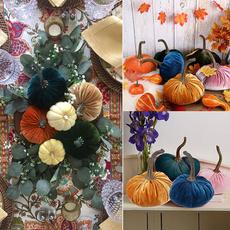withexquisite, velvet, pumpkinsdecor, Handmade