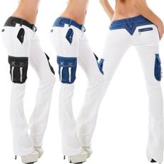 Slim Fit, bellbottomjean, Casual pants, pants
