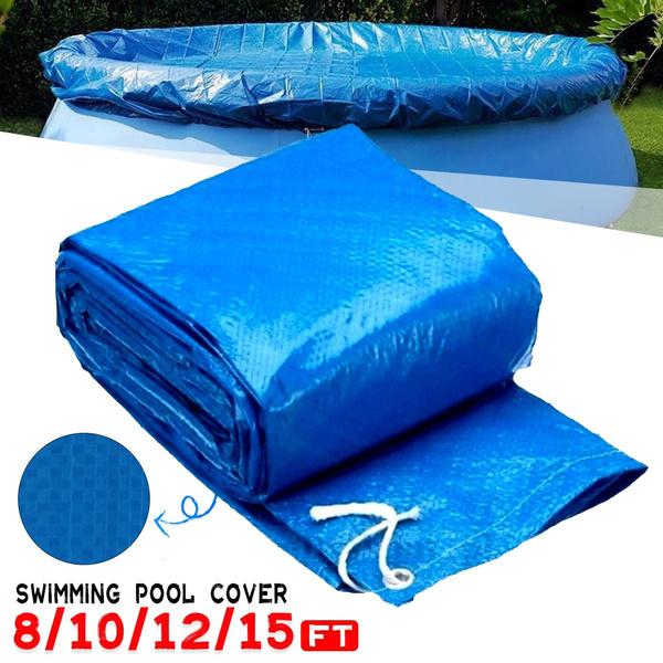 Waterproof, Cover, swimmingpoolcover, Rope