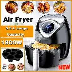 Smoke, airfryer, oillessfryer, Cooker