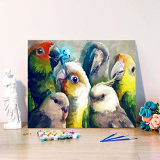 paintbynumber, diypaintbynumber, paintbynumberscanva, Colorful