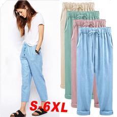 Women Pants, Summer, harem, Plus Size
