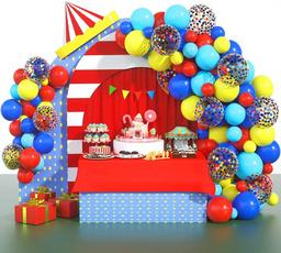 latex, Garland, Carnival, Balloon