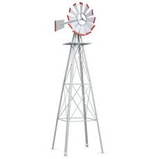 windmill, Gray, Outdoor, Yard