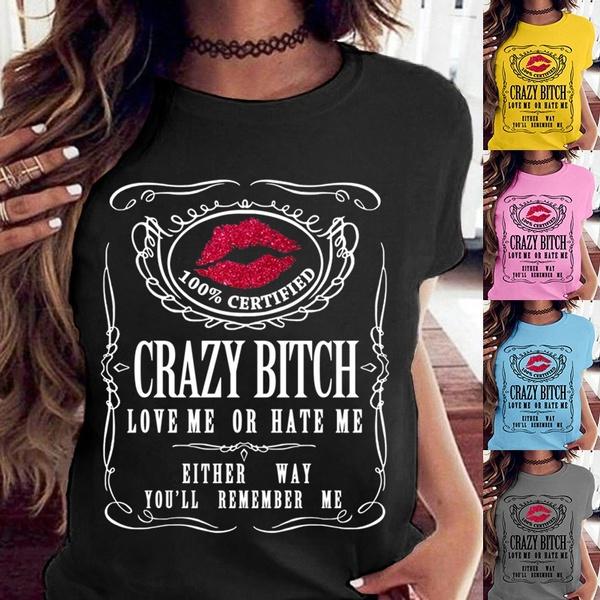 summertopsforwomen, Funny, Fashion, Cotton Shirt