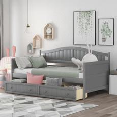 bedframesqueen, Wooden, Sofas, footboard