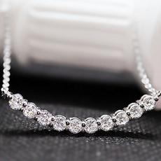 Sterling, Fashion, jewelry fashion, moissanitenecklace