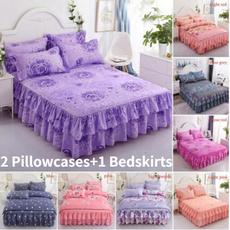 beddingkingsize, colchasdecamaqueen, floralbedcover, bedskirtking