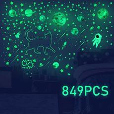 Home Decor, Stickers, Decal, glowinthedark