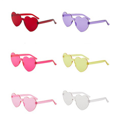 Heart, uv400, Fashion Sunglasses, womenglasse