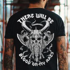 viking, Fashion, In, Shirt