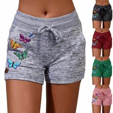 Women Pants, butterfly, Plus Size, Lace