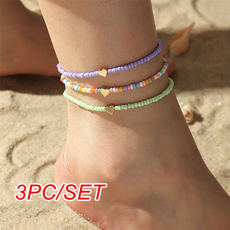 beachnecklace, Fashion, Love, Anklets