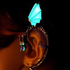 punk earring, Glow, Stud Earring, Gifts