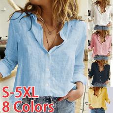 blouse, Plus Size, Shirt, Office