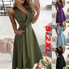 Summer, dressesforwomen, Fashion, robedété
