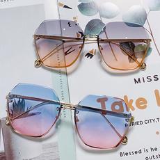 sunglasses women, Fashion, rimlesssunglasse, uvprotectionglasse