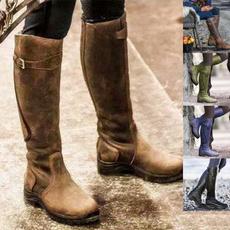 kneeboot, Plus Size, Women's Fashion, Shoes