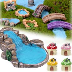 minigardentower, mushroomhouse, resinterrarium, gardenlandscape