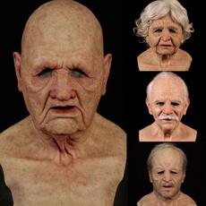 scary, Head, oldmanmask, Cosplay