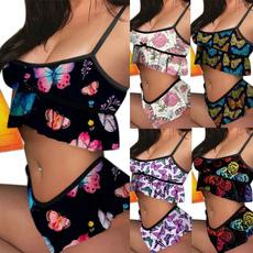 butterfly, Summer, Underwear, Shorts