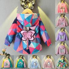 butterfly, hooded, Winter, Long Sleeve