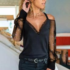 blouse, Tops & Tees, fashion women, Plus Size