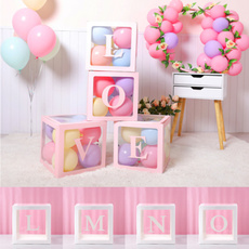 Box, Shower, Gifts, transparentgiftboxe