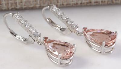 Sterling, Hoop Earring, Dangle Earring, butterfly earrings