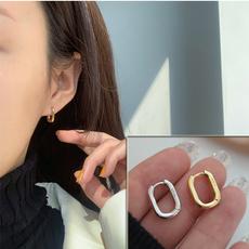 Sterling, Infinity, gold, Stud Earring