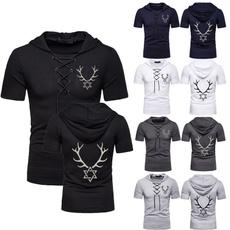 Mens T Shirt, casualshortsleeve, Shorts, Shirt