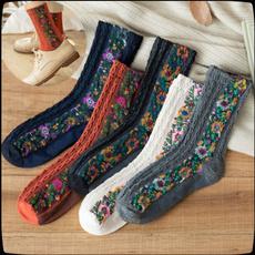 womens stockings, knitsocksbootsock, Cotton Socks, autumnsock