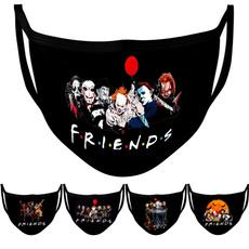 friendshalloweenmask, scary, washablemask, Masks
