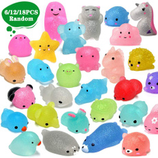 Mini, glittermochisquishy, Toy, mochisquishy