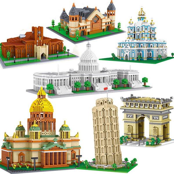 diy, Toy, Chinese, palace