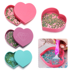 Heart, DIAMOND, embroiderytool, Jewelry