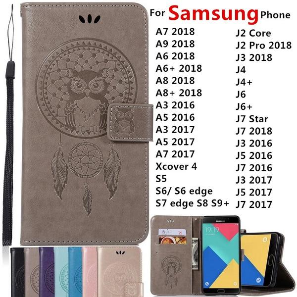 case, Owl, Samsung, leather
