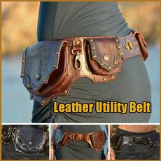 Leather belt, Medieval, Belt Bag, bumbag