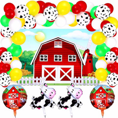 latex, cow, Colorful, Farm