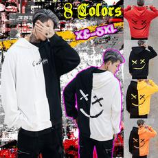 hoodiesformen, Fleece, Plus Size, Long Sleeve