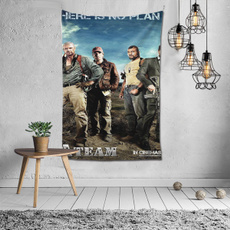 vampirediariespostertapestry6040inch, Home Decor, bedroomtapestry, wallhanging
