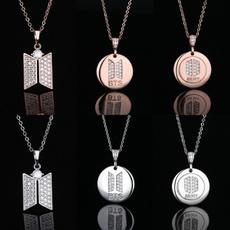 K-Pop, Chain Necklace, armynecklace, Jewelry