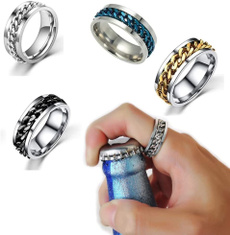Steel, Jewelry, Gifts, fashion ring