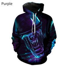 3D hoodies, Fashion, Long Sleeve, Sweaters