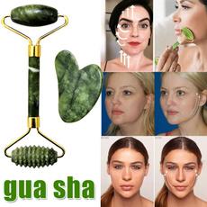 facialcare, jadefacialroller, guashastone, Beauty