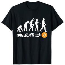 Tops & Tees, humorfunnytshirt, evolutiontshirt, bitcoinevolutionofmoneyshirt