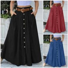 skirtforwomen, long skirt, Waist, high waist skirt