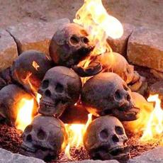 Mini, imitationskull, skull, halloweenornament