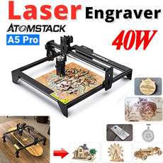 Wood, Laser, Aluminum, leather