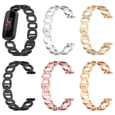 Steel, Fashion Accessory, fitbitluxewriststrap, Stainless Steel